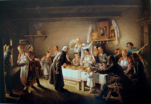 Сватовство в древней Руси
