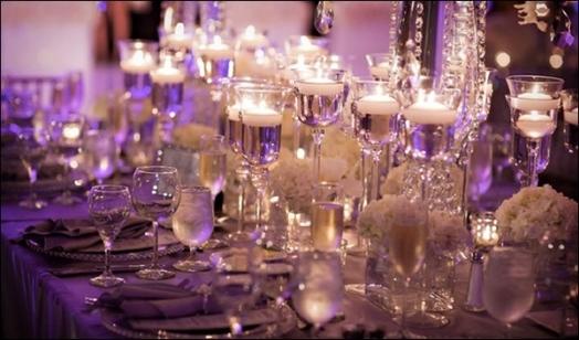 Оформление зала для свадьбы