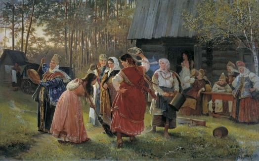 Свадьба в древней Руси